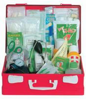 FIRST AID CASE - LARGE KIT - plastic case